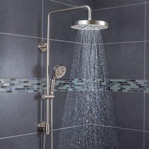 Walmart Bathroom Wall Cabinets by Bathroom Rain Shower Head With Wand Speakman Sws 1003 Bn