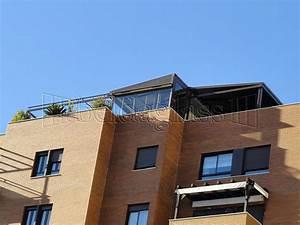 Terrazas de áticos con cerramientos acristalamientos Beldaglass