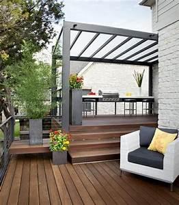 25 ideen fur sonnenschutz im garten pergola sonnensegel With französischer balkon mit pergola garten