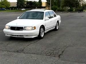 1994 Lincoln Continental Walkaround YouTube