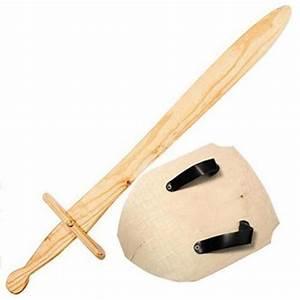 Wooden Sword Wooden Shield Toy Sword