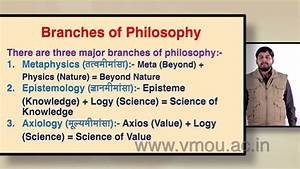 Branches Of Philosophy  Part-i