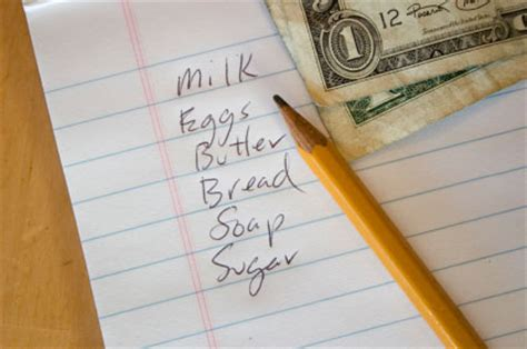 Make Shopping Lists