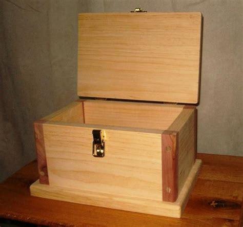 woodwork   build  wooden box plans  plans