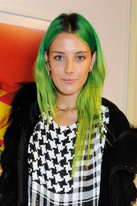 All Your Favorite Celebrities Are Going Green Hair