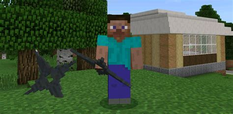 weapons pack addon beta  minecraft pe texture packs