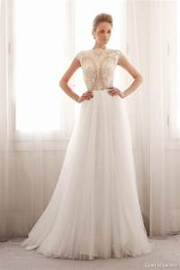 Gemy maalouf bridal 2014 wedding dresses wedding inspirasi for Skirt and top wedding dress