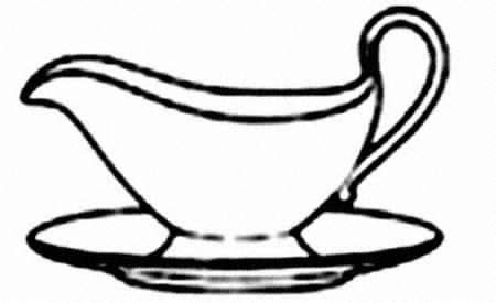 Gravy Boat Drawing by Spode Blue Italian Regimental At Replacements Ltd