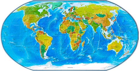 World Physical Map Wallpapers & Pictures  Hd Wallpapers