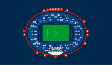 stadium map germain