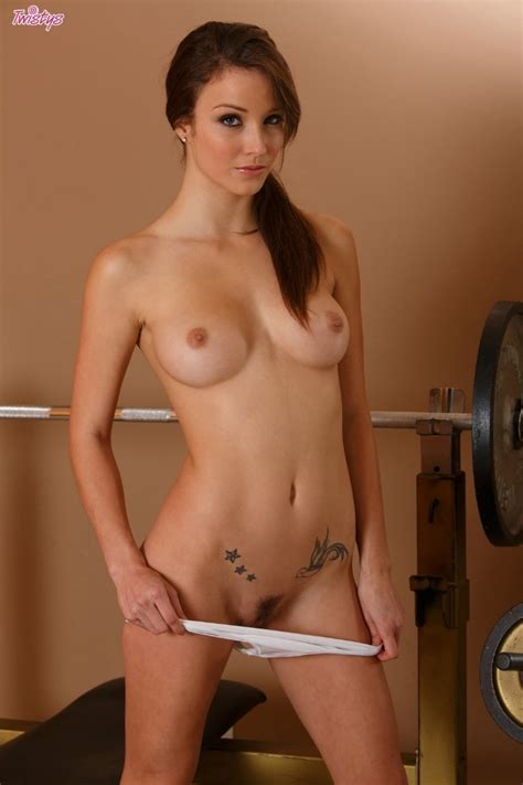 Hot Brunette Malena Morgan Gets Horny At The Gym Twistys