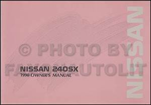1990 Nissan 240sx Wiring Diagram Manual Original
