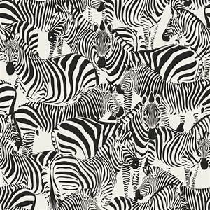 Papier Peint Rayé Noir Et Blanc : papier peint intiss impression la soie z bre noir et ~ Dailycaller-alerts.com Idées de Décoration