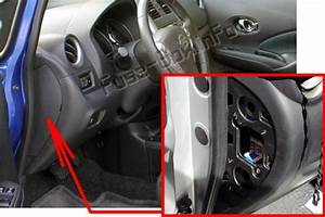 Fuse Box Diagram  U0026gt  Nissan Versa Note    Note  2013