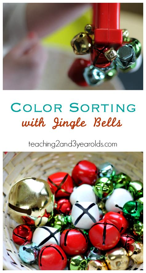 jingle bell color sorting for toddlers and preschoolers 564 | Color Sorting with Jingle Bells 1 1