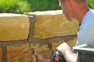 Construction En Pierre : faire un mur en pierre ~ Premium-room.com Idées de Décoration