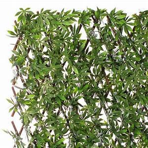 Bambou Artificiel Leroy Merlin : jardin artificiel treillis extensible en bois de saule ~ Dailycaller-alerts.com Idées de Décoration