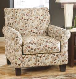 furniture with leaves design upholstered accent