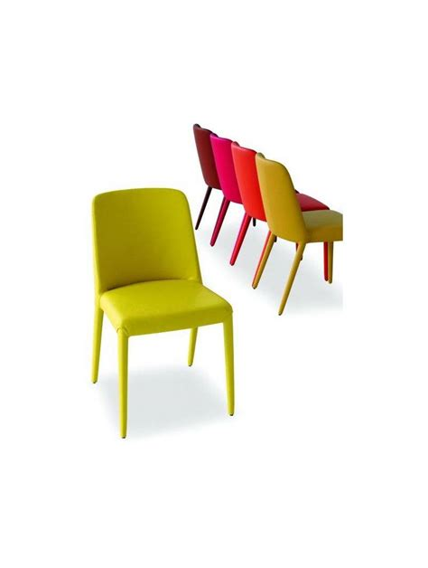 chaise simili cuir magnum lia airnova