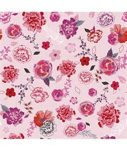 Papier Peint Fleurs Roses by Papier Peint Intiss 233 Fleurs Roses Et Rouges Chambre D