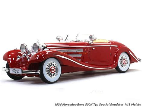 mercedes benz  special roadster red  maisto