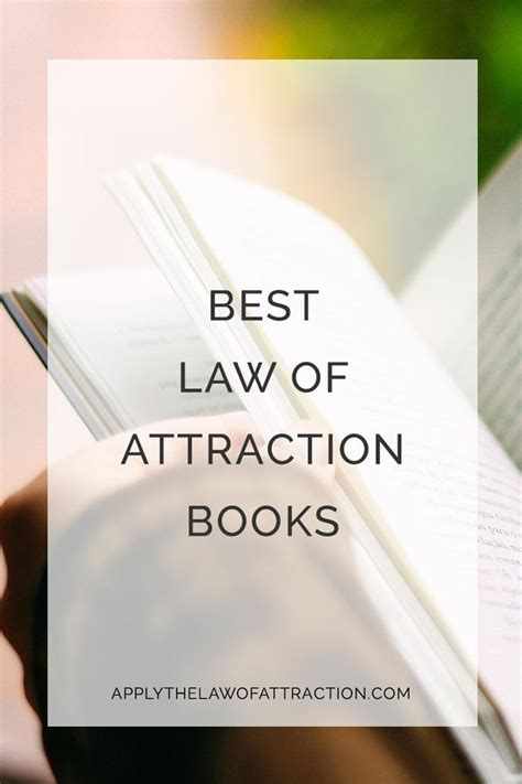 Best Of Attraction Books 25 Best Ideas About Of Attraction On
