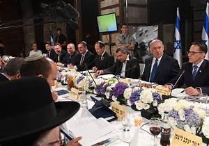Benjamin Netanyahu, cabinet ministers hold meeting at ...
