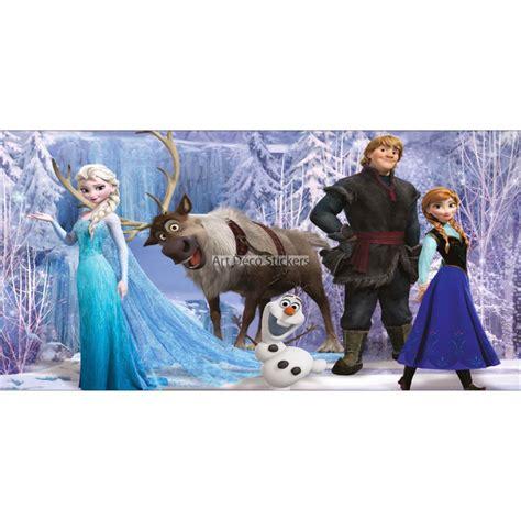 stickers chambre d 39 enfant tête de lit la reine des neiges