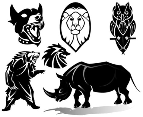 animals vector clip art images vector graphic