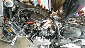84 Honda V30 Magna Carb Removal