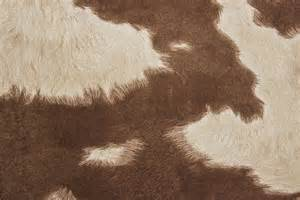 Cloth Headboard by Suede Cowhide Fabric Brown White The Fabric Mill