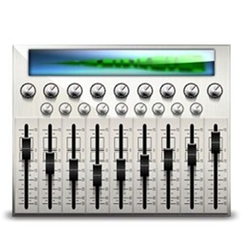 audio desk recording software mesa de mezclas de audio iconos icono gratis descarga gratuita