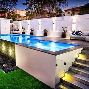 les 25 meilleures idees de la categorie piscine semi With wonderful idee amenagement jardin avec piscine 3 reportage photo piscine carre aubagne