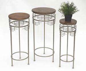 Blumenständer Metall Modern : beistelltisch metall rund g nstig kaufen bei yatego ~ Yasmunasinghe.com Haus und Dekorationen