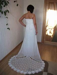 crochet wedding dresses crochet wedding pinterest With crocheted wedding dress