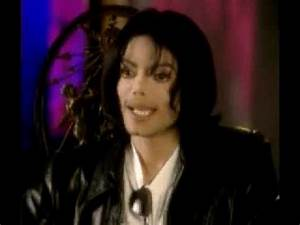 Michael Jackson Interview Mtv 1999 1 of 2 - YouTube