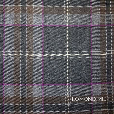 lomond grey tweed package choose  tartan tweed