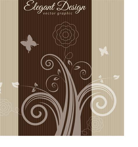 Elegant Swirly Background » Векторные клипарты, текстурные