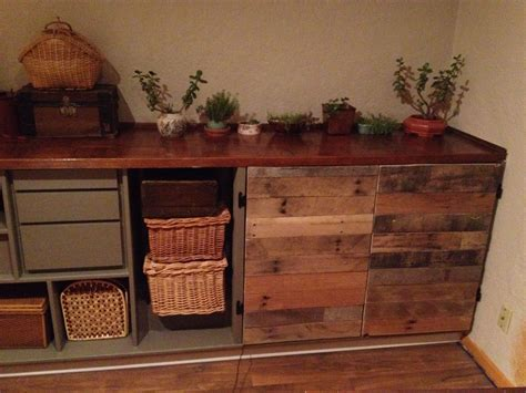 Kitchen Cabinet Doors From Pallets by Pallet Wood Cabinet Doors Home Ideas Wood Cabinet