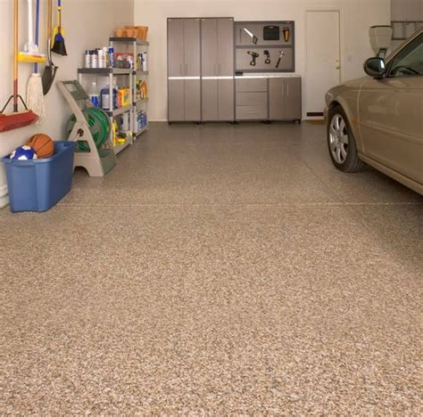 garage floor paint deals acoustic removal experts now offers epoxy flooring for garages the most popular colors are tan