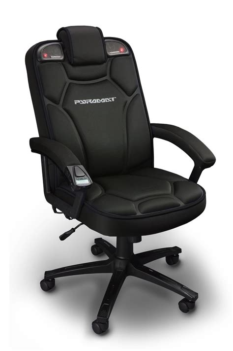 desk chair with speakers review pyramat wireless gaming chair rocks your spine