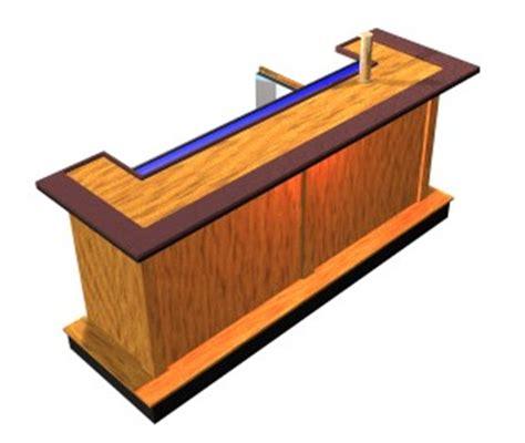 wood simple home bar plans   plans