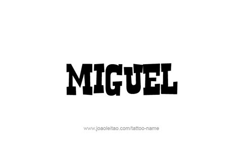 miguel  tattoo designs