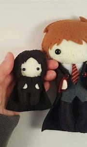 Felt Severus Snape | Harry potter ornaments, Hp harry ...