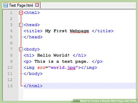 How To Create A Simple Web Page With Html (with Examples. Real Estate Sales Agreement Template. Bowling Party Invitation Template. After Effects Wedding Template Free. Graduate School Application Resume. You Are Invited Template. Infographic Design Templates. 500 Ml Graduated Cylinder. Wound Care Documentation Template