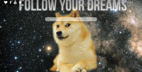 Doge Wallpaper Background for New Tab - New Tabsy