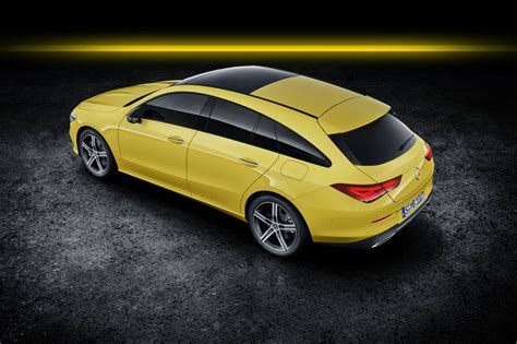 mercedes cla shooting brake  llega el familiar