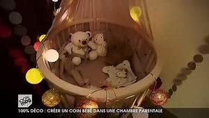 Aménager Chambre Bébé Dans Chambre Parents : am nager un coin b b dans la chambre parentale ~ Zukunftsfamilie.com Idées de Décoration