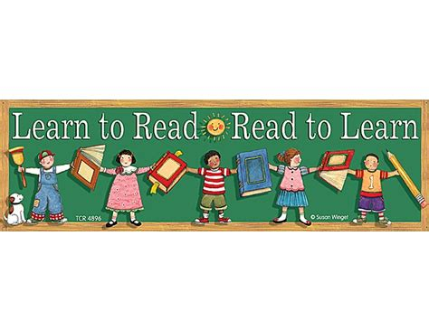 Learn To Readread To Learn Bookmarks From Susan Winget  Tcr4896  Teacher Created Resources