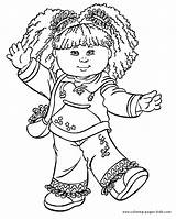 Coloring Cabbage Patch Pages Cartoon Printable Sheets Kid Character Characters Colouring Books Sheet Cartoons Popular Coloringpages101 Coloringhome Faith Hope Via sketch template